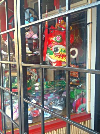 Chinatown shop window.