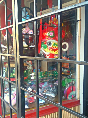 Chinatown shop window.