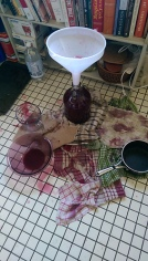 Made wine and mead - sometimes it gets messy.
