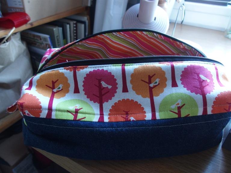 Boxy zip pouch #1.