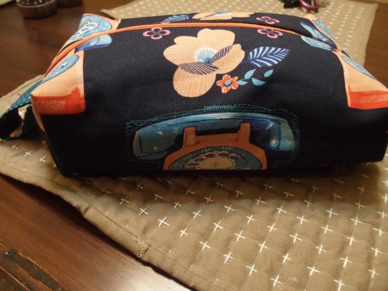 Boxy zip bag #2