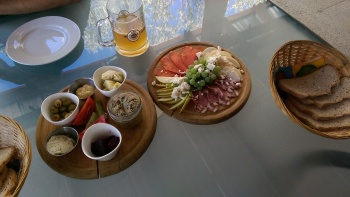 This was lunch one day!