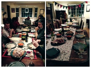 Hosted 14 for Thanksgiving.